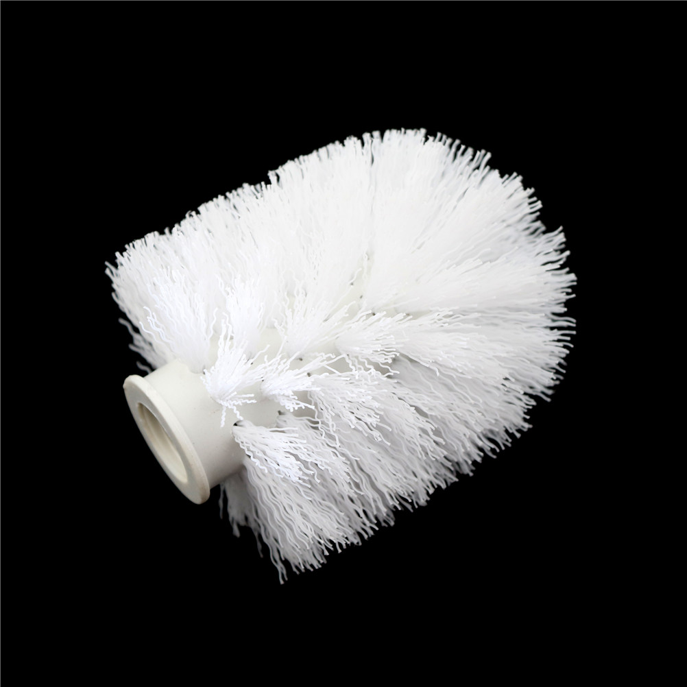 Toilet Brush Head Universal Holder Replacement Tool Cleaning Brush Head For Toilet Bathroom WC Clean Tool Accessory