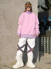 MenAndWomen SkiWaterproof Sweater Ski Jacket HighCollar Snowboarding