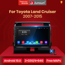 Junsun V1 2G + 32G Android 10,0 para Toyota Land Cruiser 2007-2015 auto Radio Multimedia reproductor de Video GPS de navegación 2 din dvd