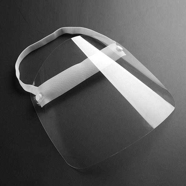Universal Head Mounted Clear Face Protection Shield Saliva Splashing Proof Transparent Face Screen 3