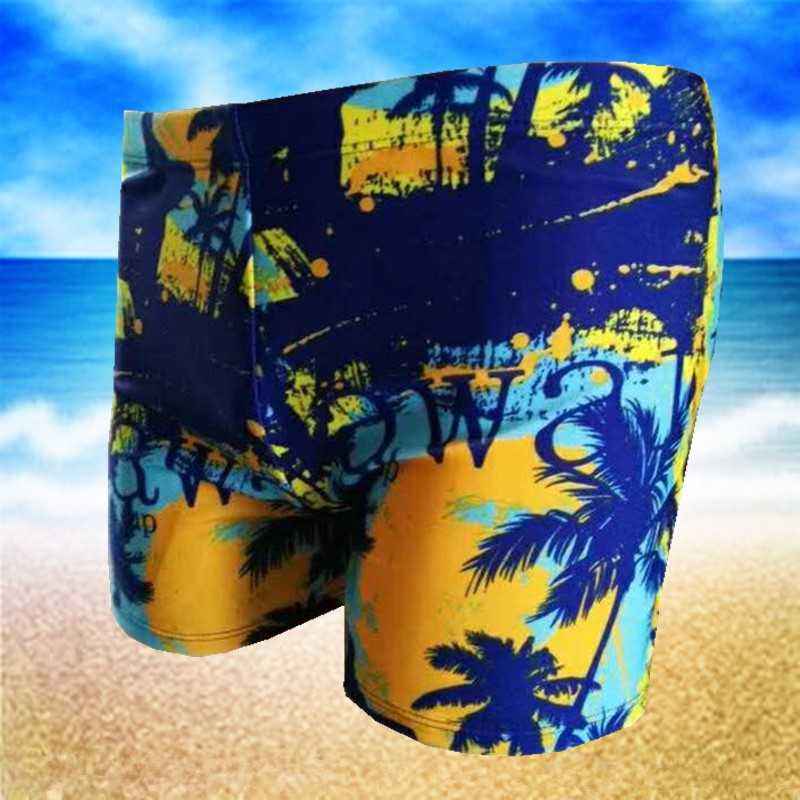 Swimming Trunks Men's Boxer Swimming Trunks Men Swimsuit Fashion Models Beach Shorts Hot Springs Swimming Equipment