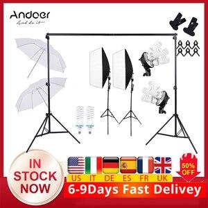 Image 1 - Cz在庫で 2*3 メートル/6.6 * 9.8ft写真の背景サポートスタンド調節可能な背景写真管理の背景写真スタジオの背景