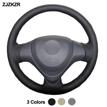 Car Auto Steering-Wheel Cover For Suzuki Jimny 2015 – 2018 Braid on the Steering wheel Funda Volante Car Accessories 2016 2017