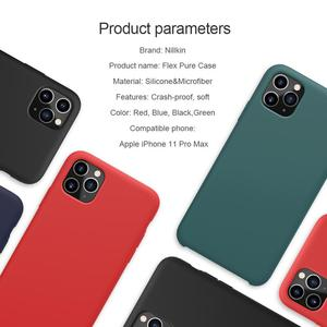 Image 2 - NILLKIN For iPhone 11 XR Case Flex Pure CASE Slim Soft Liquid Silicone Shockproof Phone Case For iPhone X XS 11 Pro MAX Cover
