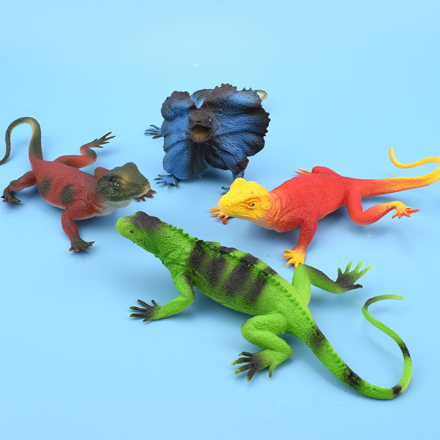 NEW LOT OF 6 BOXES 22 PCS REPTILES SNAKES LIZARDS CHILDREN PLAY TOYS ANIMALS