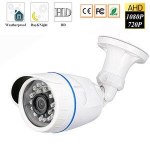 Image 1 - Gözetim kameraları 720P 1080P 4.0MP AHD kamera açık su geçirmez Bullet kameralar gündüz & gece gözetim HD 3.6mm Lens IR CUT