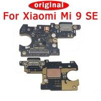 Peças de reposição originais para xiaomi mi 9 se placa porto de carregamento pcb placa para xiaomi mi 9se usb plug cabo flexível peças de reparo