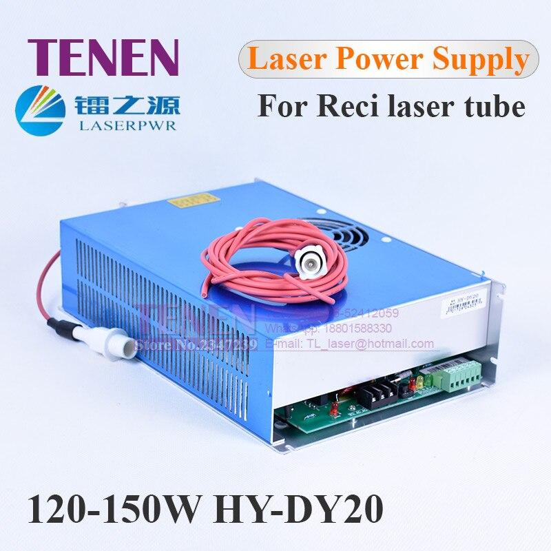 HY DY20 150W CO2 Laser Power Supply For Reci W6 S6 W8 S8 Tube 110V 220V