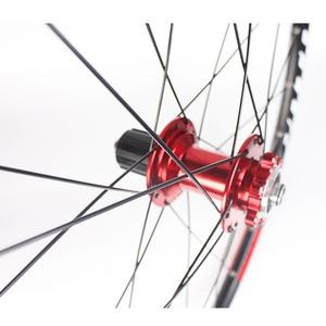 """Image 5 - RXR ruedas de bicicleta de montaña de 27,5 """"26"""" 29 """", rueda de bicicleta de montaña 7 11 Spee, juego de ruedas delanteras y traseras, compatible con Shimano SRAM Cassette"""