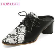Туфли lloprost женские на высоком каблуке туфли лодочки квадратный