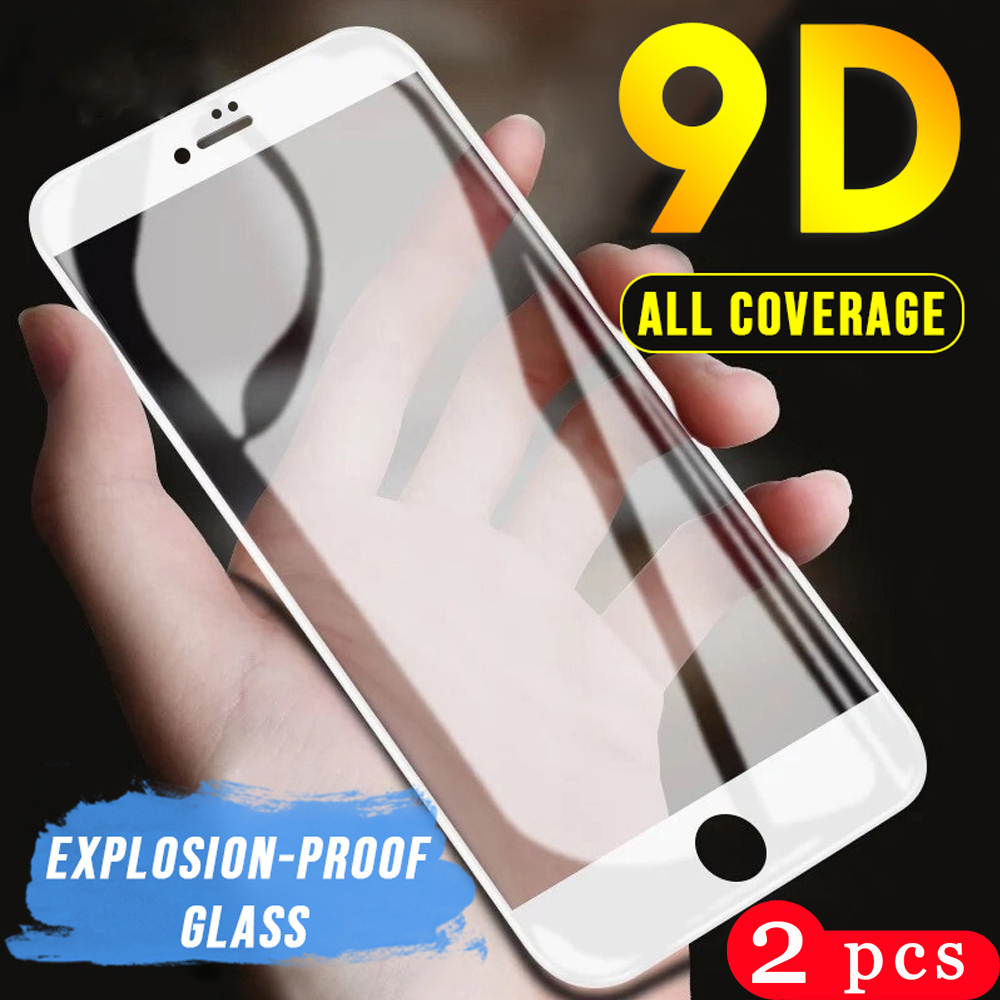 2Pcs for iphone 5 5S SE 5C 6 6s 7 8 plus Tempered on glass for iphone 11 pro X XS MAX XR phone screen protector protective film
