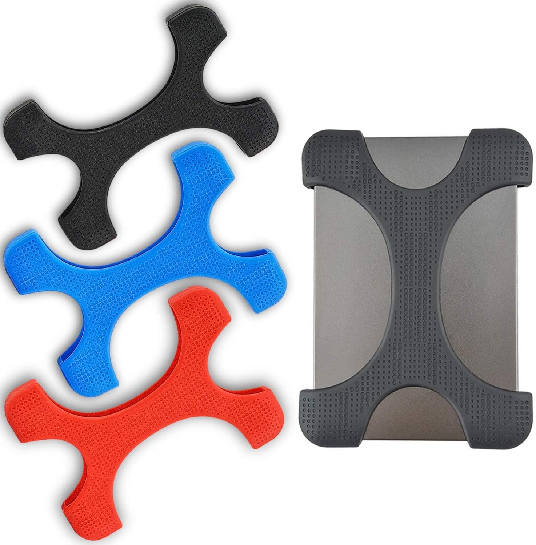 Противоударный силиконовый чехол для жесткого диска 2,5 дюйма для Seagate Backup Plus Slim 1T/2T Seagate expanding 1T/2T WD Elements 1T My Passport 1T