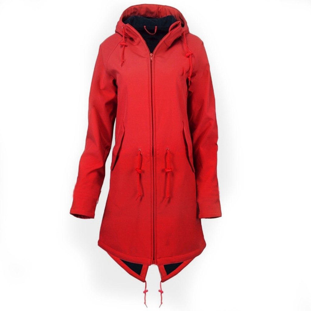 Hiking Hoodie Rain-Jacket Waterproof Outdoor Women Camping Overcoat Winter Solid Plus-Size title=