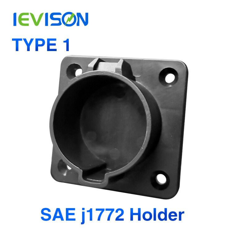 EV Charger Cable Holder Holster For Type1 EVSE J1772 Connector Socket Plug SAE   AC Dummy  Charging Station  Level 2