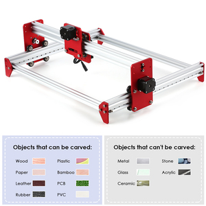 Image 5 - A3 Laser Machine DIY Desktop Mini Laser Graveermachine LiteFire A3 Software 500 mw/2500 mw/5500 mw 3040 Metalen Frame Cnc Router