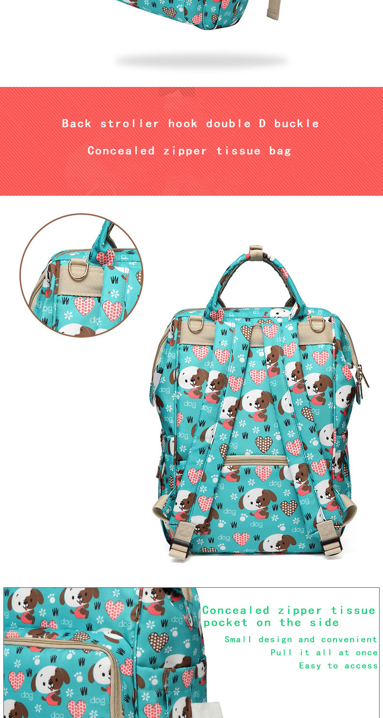 Hcd5b5f90b2194baead846f7ea5fe8e2be Fashion Mummy Maternity Nappy Bag Waterproof Diaper Bag With USB Stroller Travel Backpack Multi-pocket Nursing Bag for Baby Care