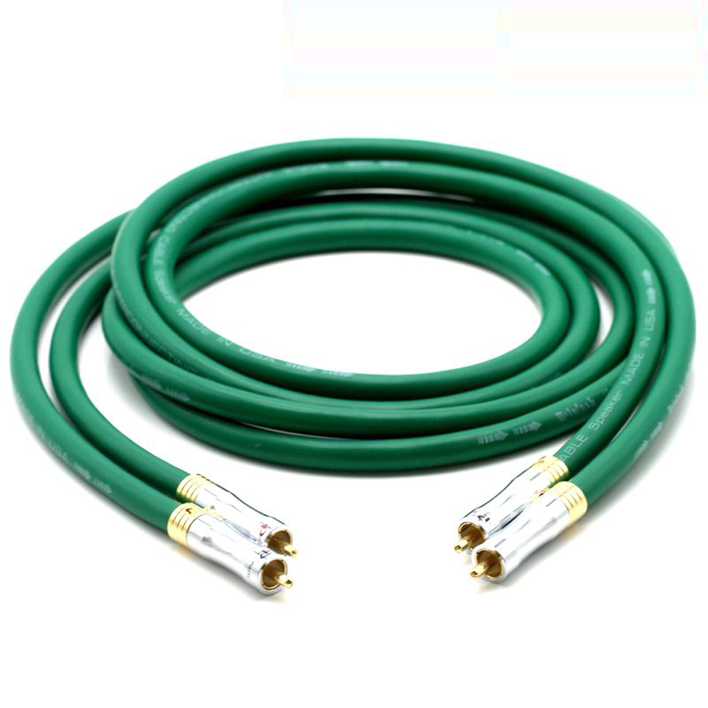<font><b>MCINTOSH</b></font> <font><b>2328</b></font> audio 4N Copper <font><b>Mcintosh</b></font> RCA Interconnect audio cable with Pailicce gold plated plugs image