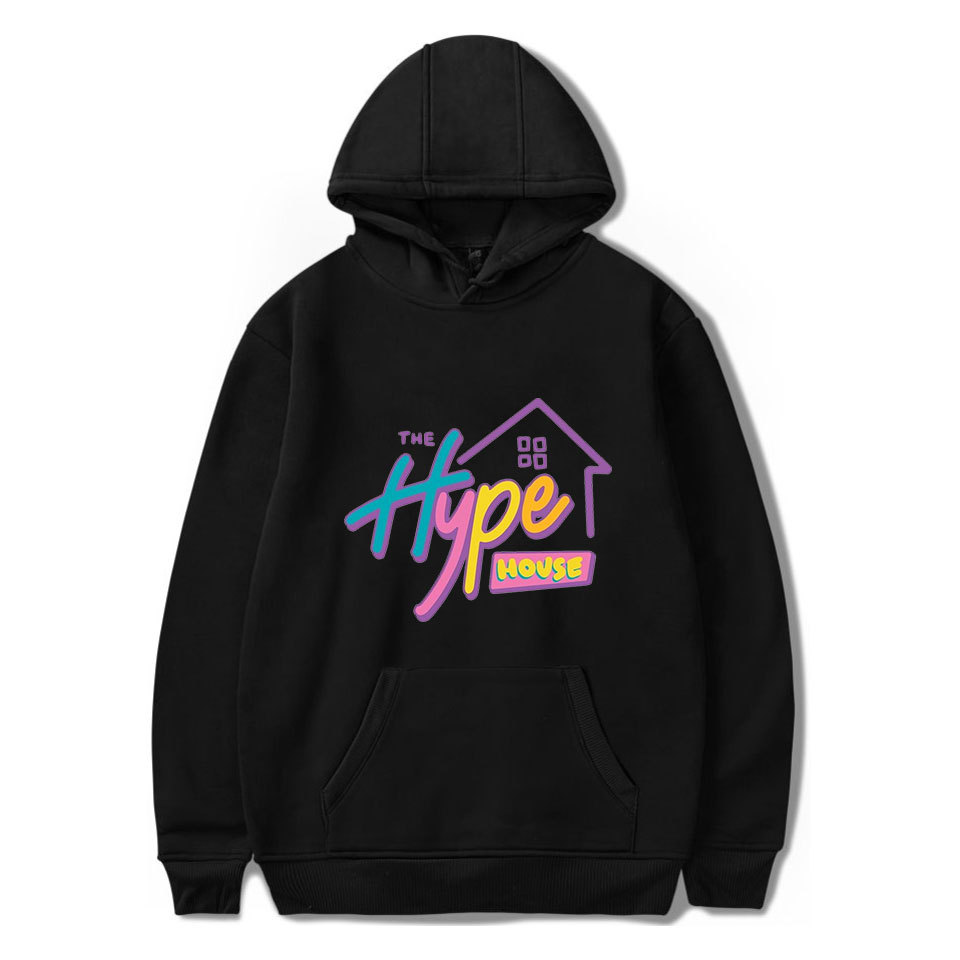 New The Hype House Hoodies Charli D'Amelio Sweatshirts Men/Women Charli Damelio Merch hoodie Unisex Harajuku Tracksuit Pullovers