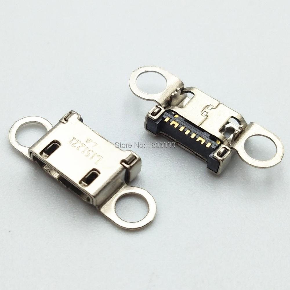 10 шт., разъем Micro USB для зарядки Samsung S6 edge A310 A310F A510 A510F G928 Note5 N920
