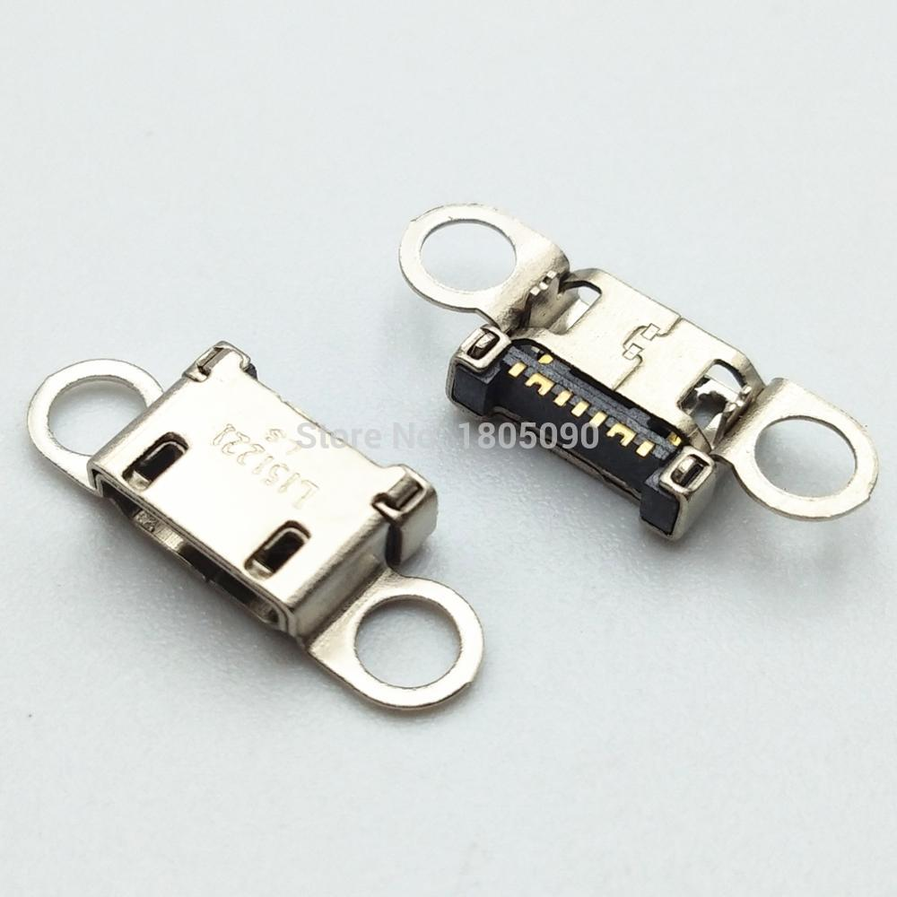 50pcs Micro USB Jack Charging Socket Charger Port Plug Dock Connector For Samsung S6 Edge A310 A310F A510 A510F G928 Note5 N920