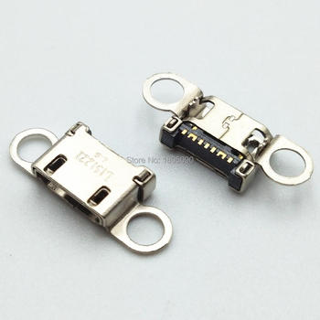 50 шт. Micro USB разъем для зарядки зарядное устройство порт разъем док-станции для samsung S6 edge A310 A310F A510 A510F G928 Note5 N920