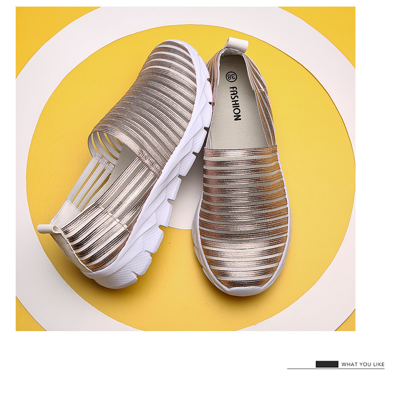 Women Flats Shoes Woman Loafers Slip-ons Platform Ballet Sneakers (20)
