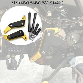 Motorcycle  Engine Guard Crash Pad Sliders Protector for HONDA Grom MSX125 SF 2013-2019
