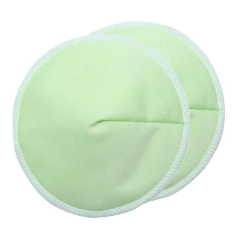 2019 almohadillas de bambú reutilizables almohadillas de lactancia de bambú orgánico lavables contorneadas mamá almohadillas de lactancia contorneadas para 3 capas