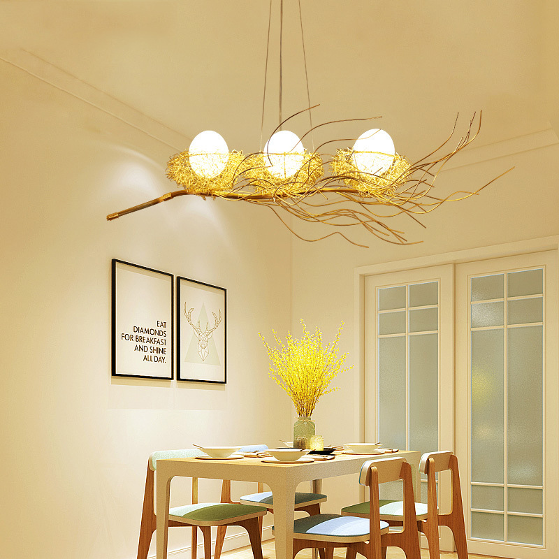 Luminaria Pendente Wood LED  Pendant Lights  Luminaire Suspendu