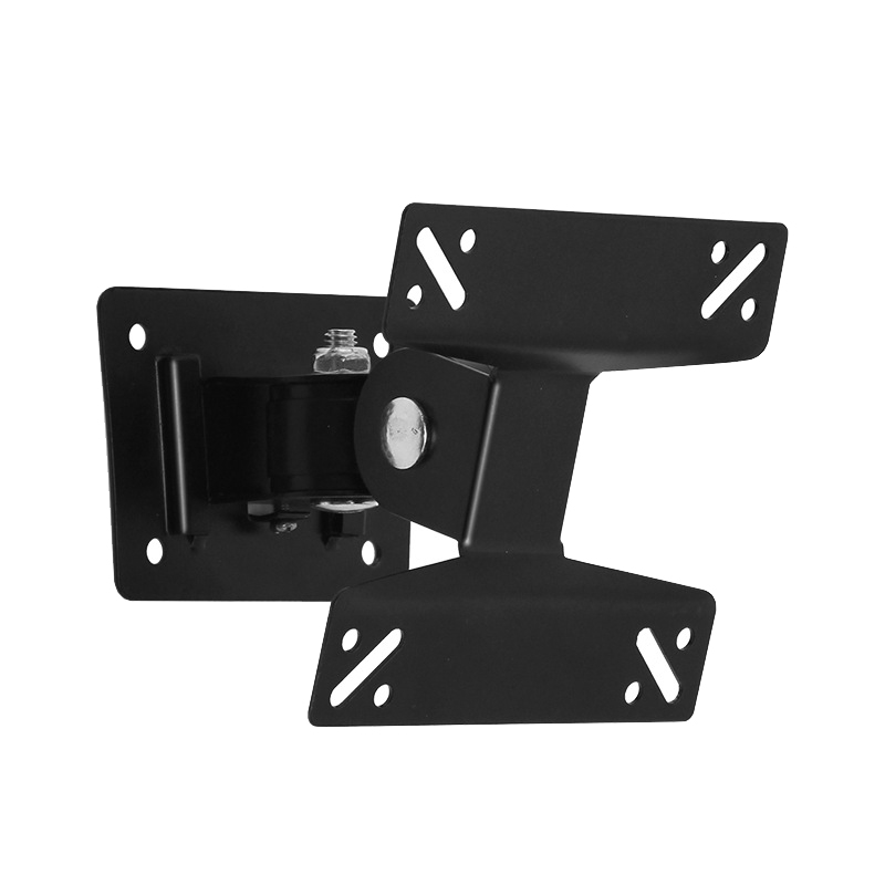 RISE-Universal Wall Mount Stand for 15-27inch LCD LED Screen Height Adjustable Monitor Retractable Wall for VESA Tv Bracket