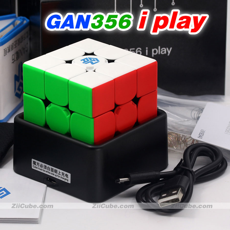 Gans Magic Cube Puzzle GAN356 I Play 2020 New Updated Version 3x3 GAN 356 I Bluetooth 3x3x3 Magnetic Speed Puzzle Toys Game Cube