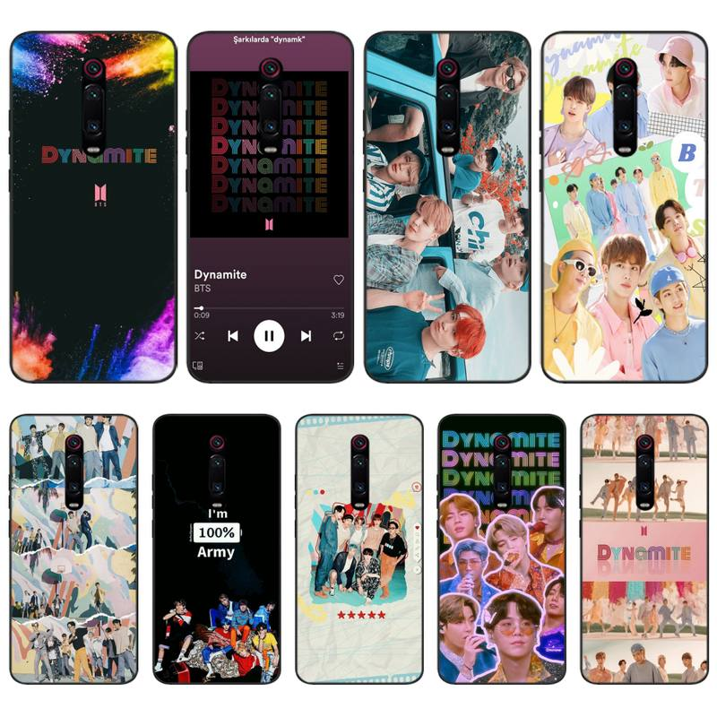 Dynamite Kpop Boys Phone Case For Xiaomi Note 10 Pro 9 Coque Silicone Cover For Redmi Note 9s 8