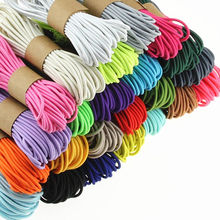 Round-Mask Rubber-Band-Tape Rope Ear-Lanyard Elastic-Band Office-Tie