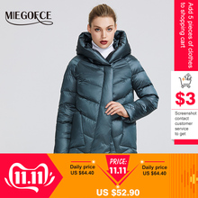 MIEGOFCE Winter Jacket Charm Collection Women's with Unusual-Design And Colors Coats