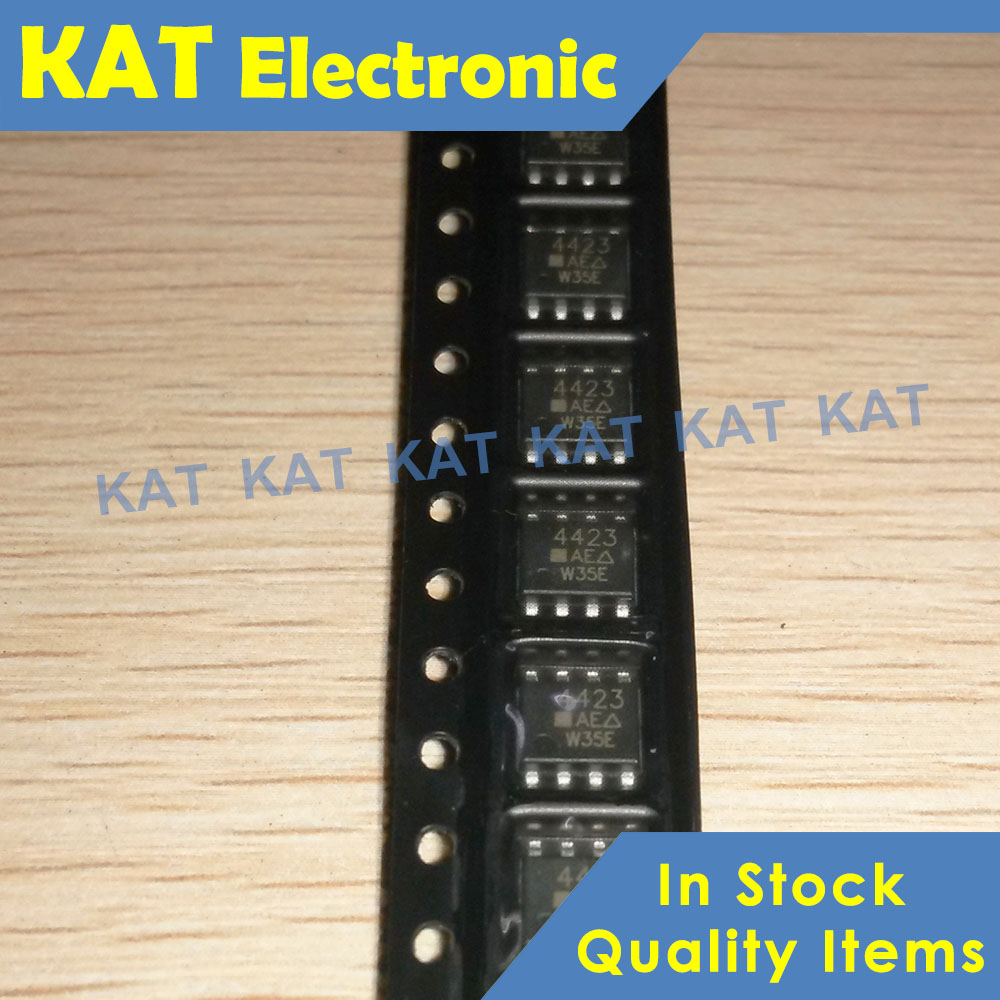 5PCS/Lot SI4423DY 4423 Marking Code 4423 SI4423DY-T1-E3 SOP-8 P-Channel 20-V (D-S) MOSFET