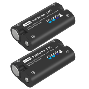 Image 2 - 2 stücke 2600mAh Batterie für Xbox One / Xbox One S/Xbox One X/Xbox Serie X/S Elite Wireless Controller Gamepads + LCD USB Ladegerät