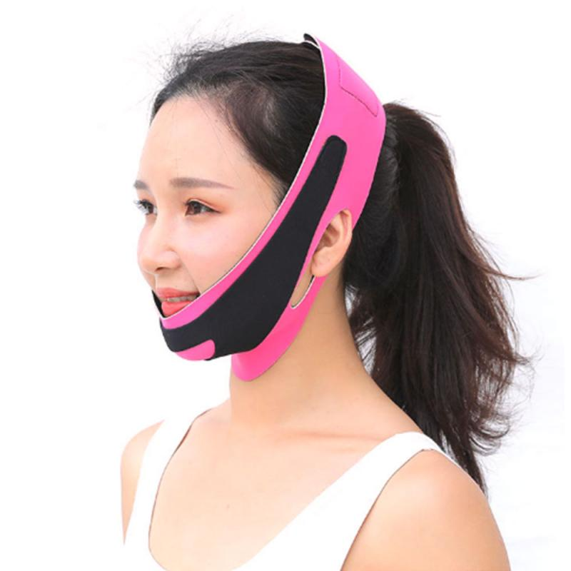 Face Lift Tools V-Line Lift Up Mask Cheek Chin Slimming Thin Belt Strap Beauty Delicate Facial Thin Face Mask Bandage Gift TSLM2