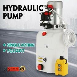 Hydraulic unit 7L, hydraulic pump 12 V 180 bar 2000W truck, tipper, trailer