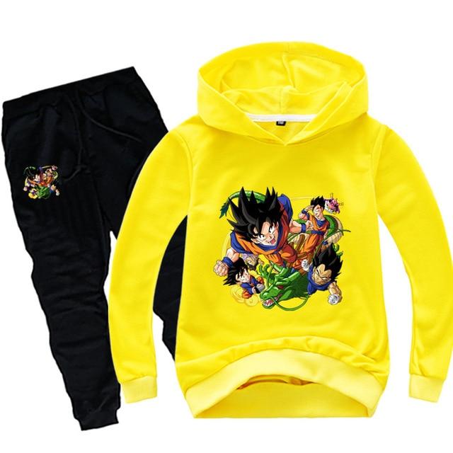 Anime Dragon Ball Sweat Suit 3