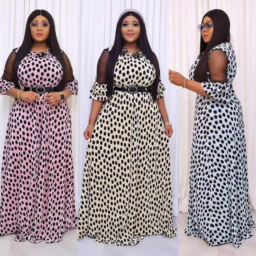 African chiffon Loose dress 1