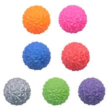 Gym Yoga Spiky Massage Ball Fitness Muscle Indoor Yoga Massage Ball Fitness Massager Yoga Exercise Balance Relaxation Stress Bal все цены