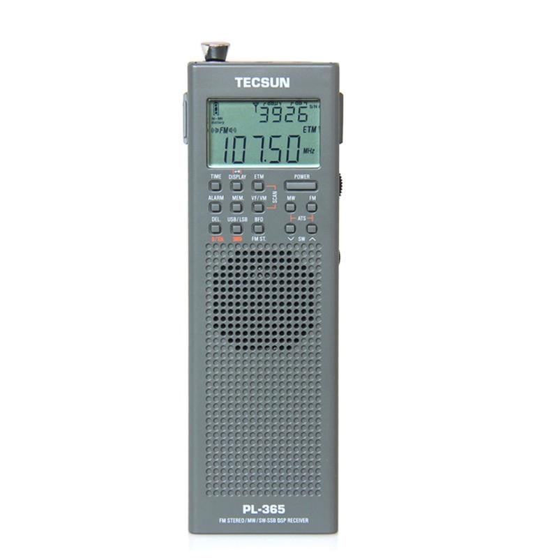 Lusya Tecsun PL-365 Mini Portable DSP ETM ATS FM-Stereo MW SW World Band Stereo Radio