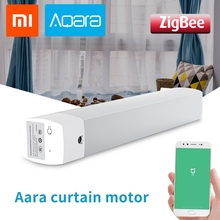 Xiaomi Aqara Curtain Motor Rails Zigbee Wifi Version Decoration Work With Mi Home App For Xiaomi Smart Home Silent Curtain Track