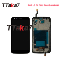 For LG G2 D802 D805 D800 D801 LCD Display 5.2'' Touch Screen Digitizer Assembly Replacement For LG Display in Mobile Phone LCD
