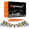 KAMMURI 100% белый Canbus для BMW X1 E84 F48 X2 F39 X3 E83 F25 X4 F26 X5 E53 E70 F15 X6 E71 E72 светодиодный внутренний светильник посылка комплект
