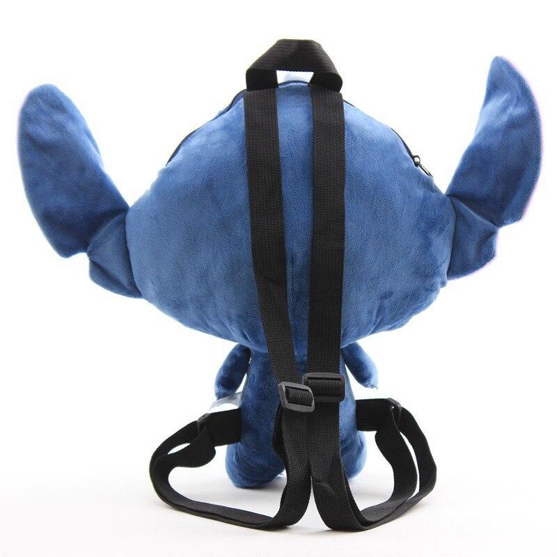2019 New Lilo Stitch Plush Dolls Backpack Cute Blue Pink Stitch Angel Peluche Schoolbag Gift for Baby Kids Boys Girls Children (12)