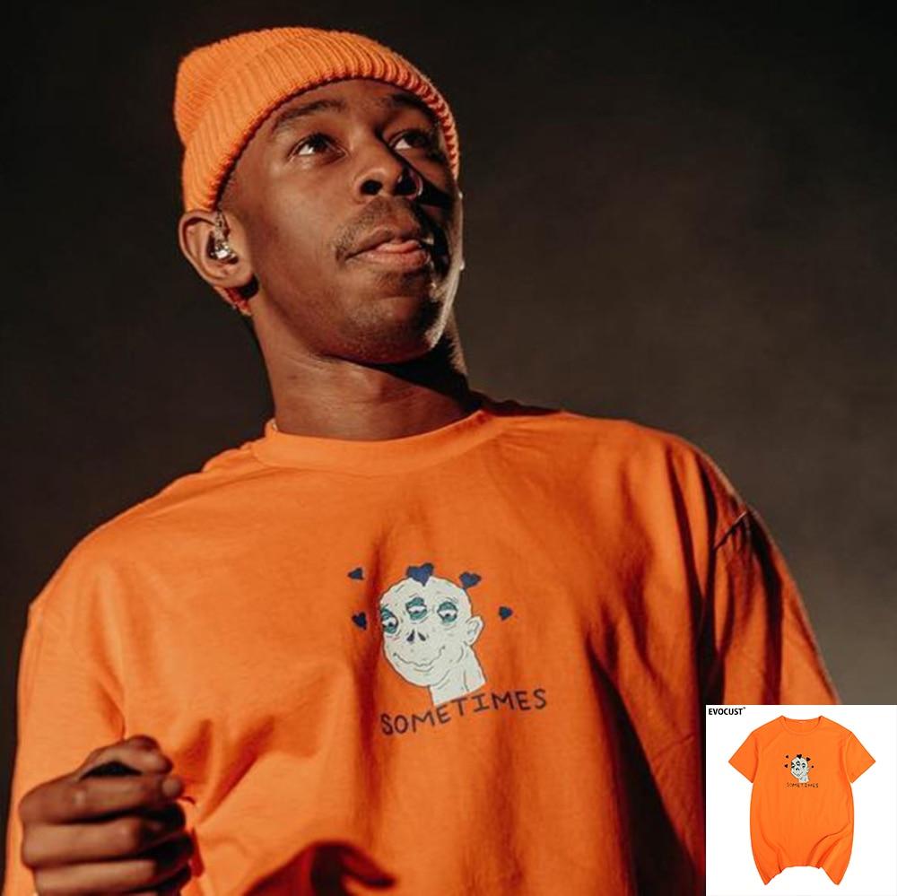 Sometimes Flower Boy Golf Wang Tyler The Creator Funny Skate Cherry Bomb T-shirt Cotton Men T Shirt New TEE TSHIRT Womens