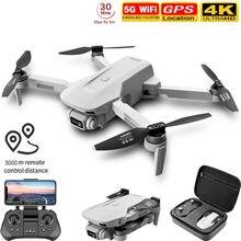 F8 gps zangão 5g hd 4k câmera profissional 2000m transmissão de imagem do motor sem escova dobrável quadcopter rc dron presente