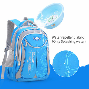Image 2 - Primary Students Schoolbag Big Capacity Children Backpack Bag Reduce the Burden of Books Waterproof Pack for Teenager Girls Boys
