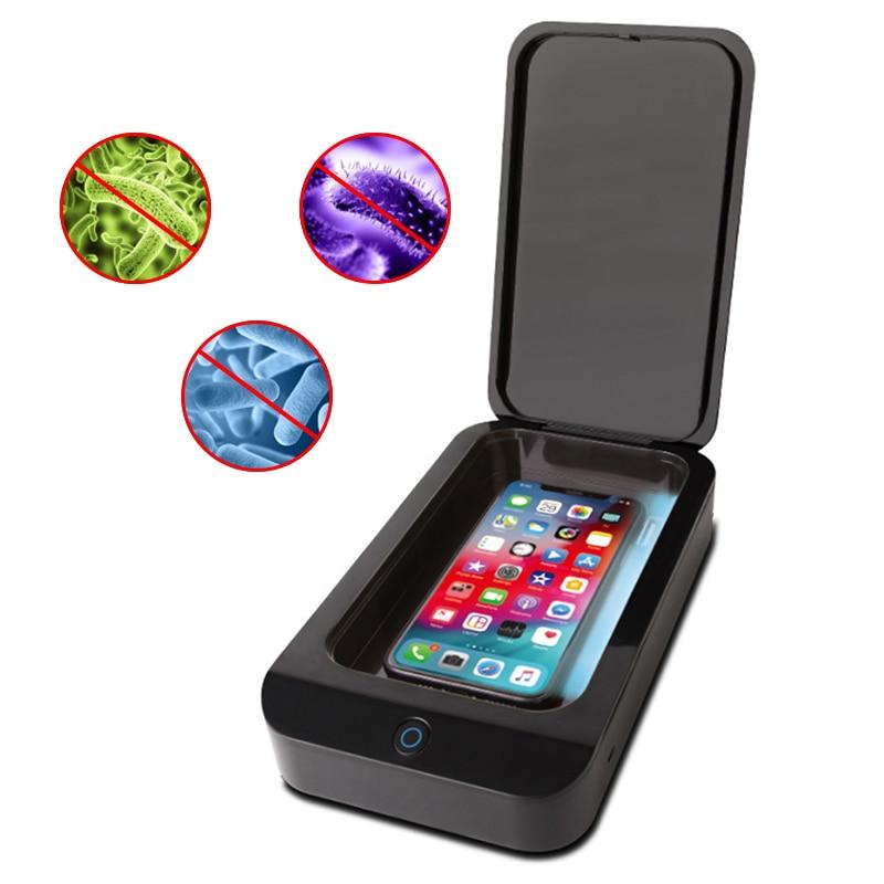 X2 UV Face Mask Sterilizer Phone Sterilizer Box Jewelry Phone Cleaner Sanitizer Disinfection Box